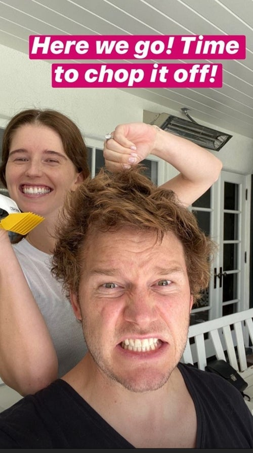 Chris Pratt haircut before