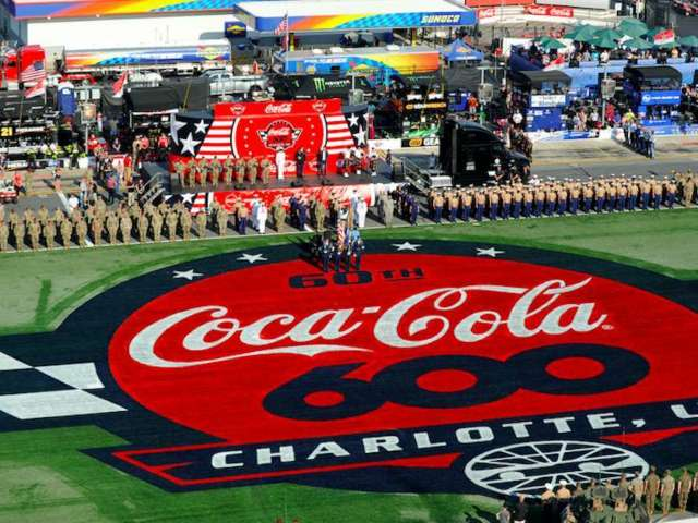 Coca-Cola 600: See Some of the Best Tribute Designs Ahead of Sunday's Race Honoring Fallen Military Members
