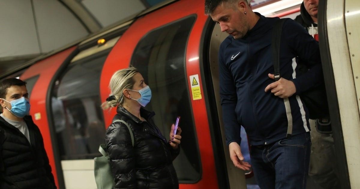 coronavirus train getty images