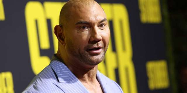 Dave Bautista emotional paying tribute Shad Gaspard
