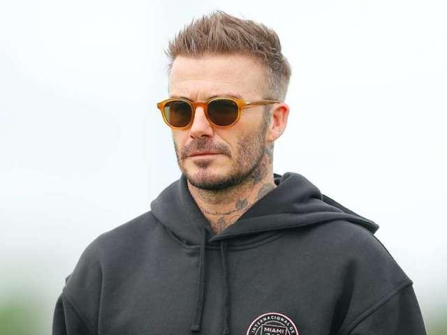 How David Beckham Celebrated His 45th Birthday