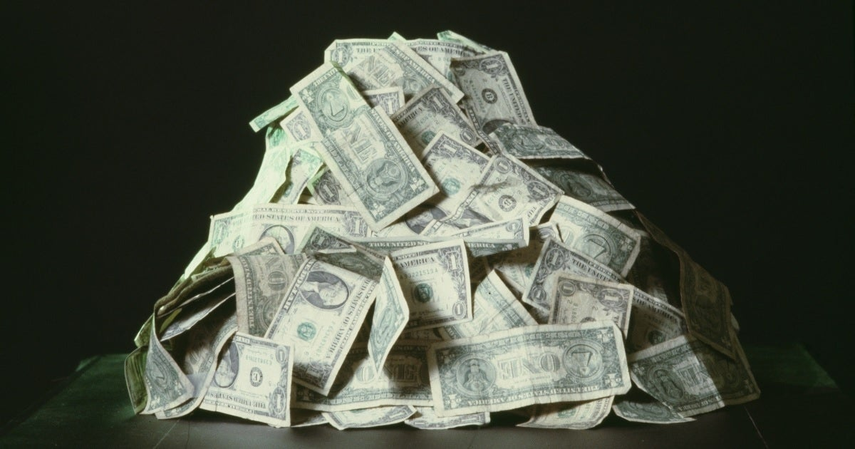 dollar bills getty images