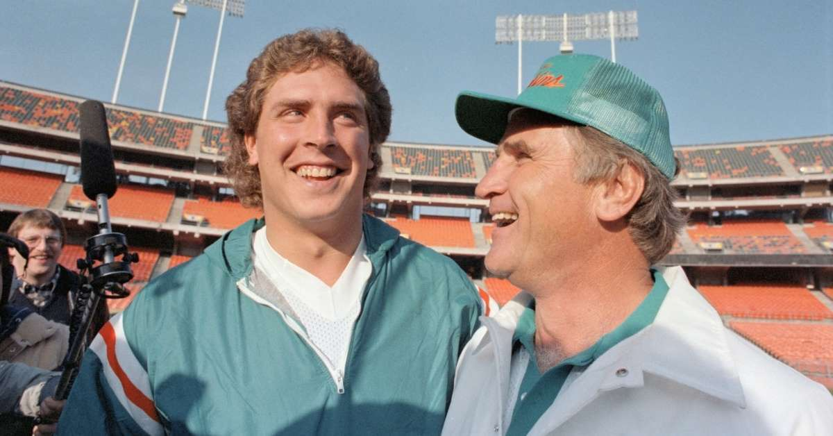 Don Shula_ Dan Marnio message to late Dolphins coach