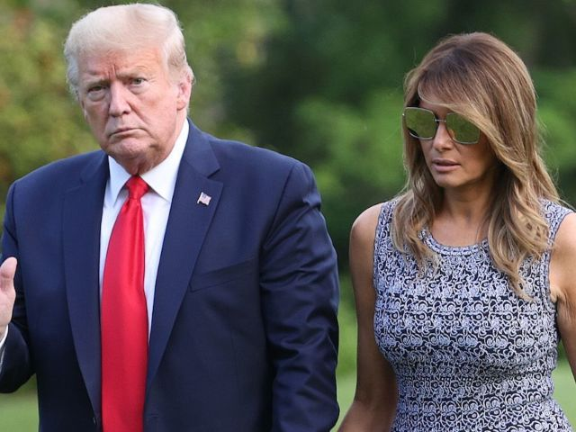 Donald Trump's Latest George Floyd Statement Underwhelms When Compared to Wife Melania Trump's Message