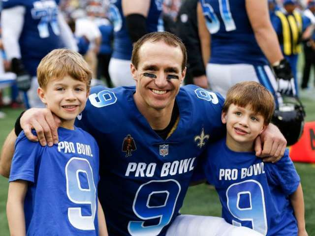 Drew Brees Reveals His Sons Have Suffered Some Unfortunate Facial Injuries
