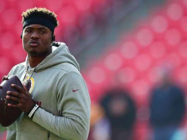 Redskins QB Dwayne Haskins Has a Mural of Tom Brady at His House, and Fans Are Confused