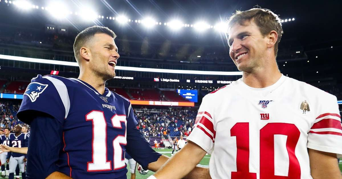 Eli Manning Tom Brady tough first season Buccaneers
