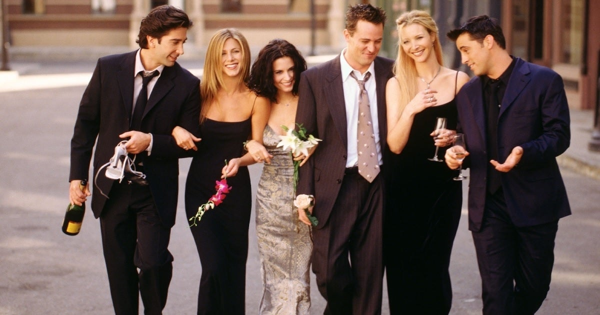 friends cast nbc getty images