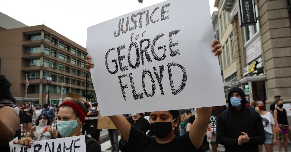 george floyd protester getty images