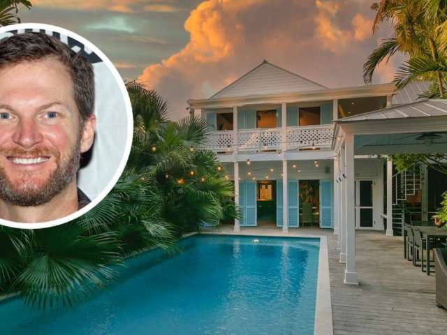 Tour NASCAR Champ Dale Earnhardt Jr.'s $3.5M Pirate-Themed Key West Home