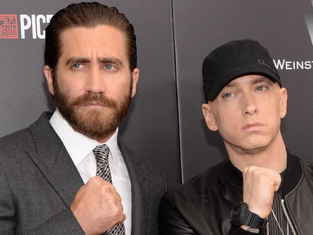 Eminem Was Supposed to Play Jake Gyllenhaal's Role in 'Southpaw,' Kurt Sutter Confirms