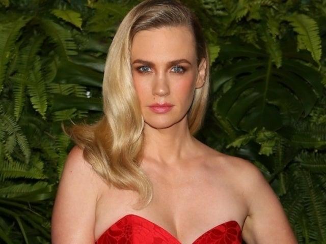 January Jones Risks Wardrobe Malfunction in New Quarantine Bikini Photos