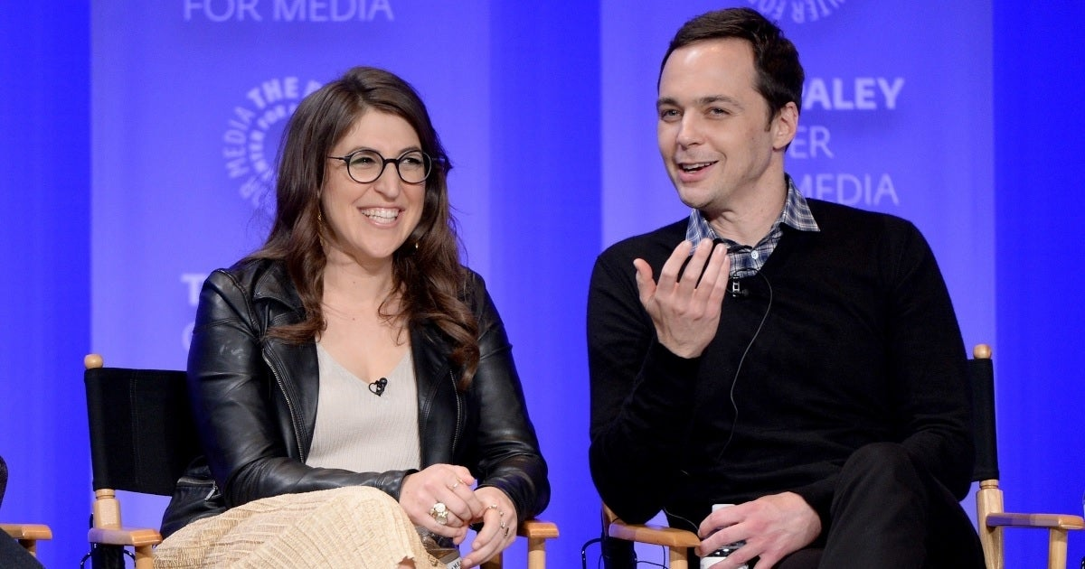 jim parsons mayim bialik getty images