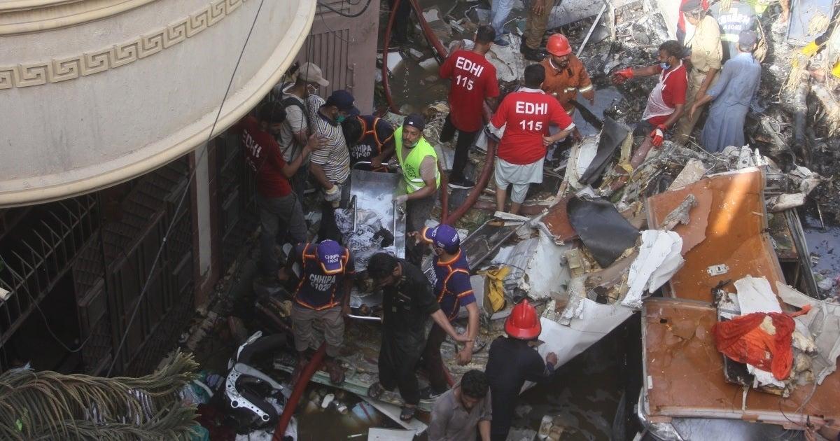 karachi plane crash getty images