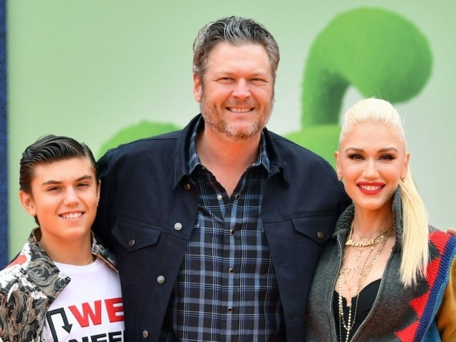 Gwen Stefani Shares Video of Blake Shelton Planting Kisses on Her Son Kingston for His 14th Birthday