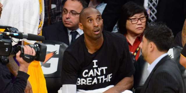 Kobe Bryant photo wearning I can't breathe protest shirt resurfaces, George Floyd death