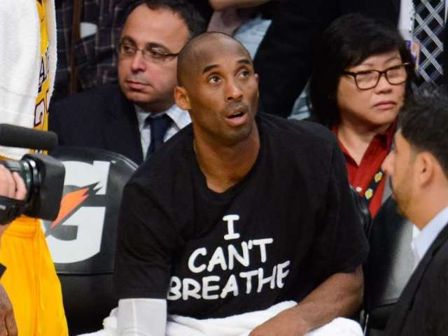 Photo of Kobe Bryant Wearing 'I Can't Breathe' Protest Shirt Resurfaces After George Floyd's Death