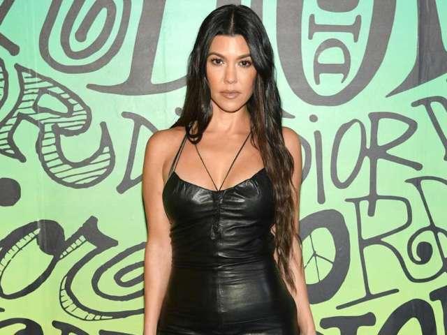 Kourtney Kardashian and Travis Barker's Relationship Just Went Official