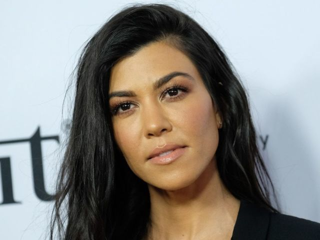 Kourtney Kardashian Goes Chic in New Blazer Photos