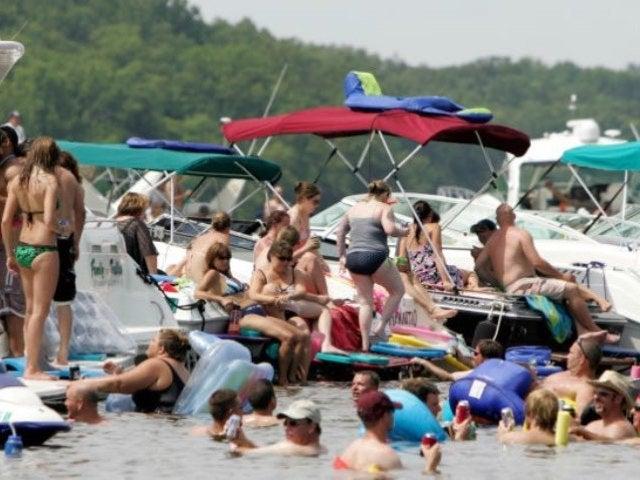 Michigan Lake Party Video Shows Hundreds Ignoring Social Distancing, Not Wearing Masks