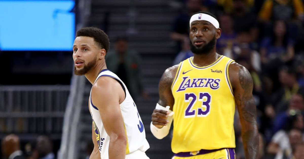 LeBron James Steph Curry unite NBA return