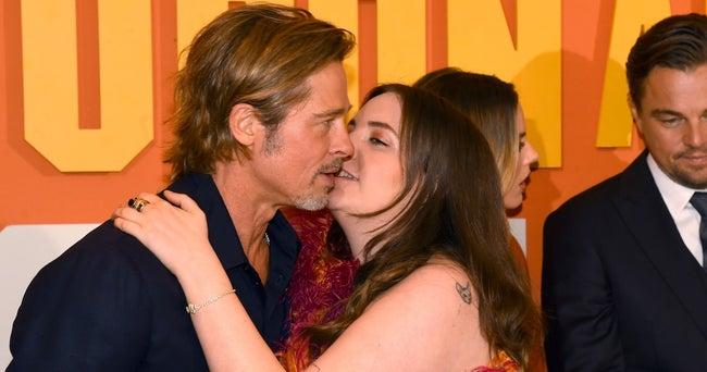 Lena Dunham Brad Pitt