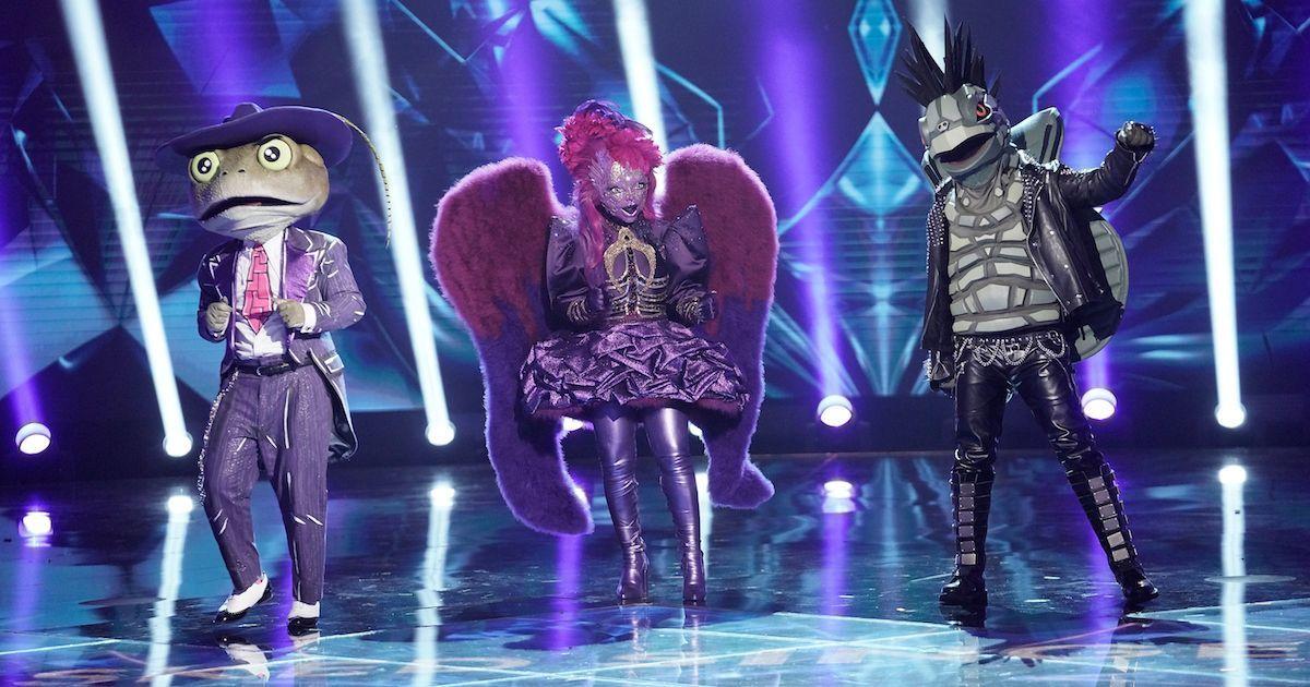 masked-singer-turtle-frog-night-angel-getty