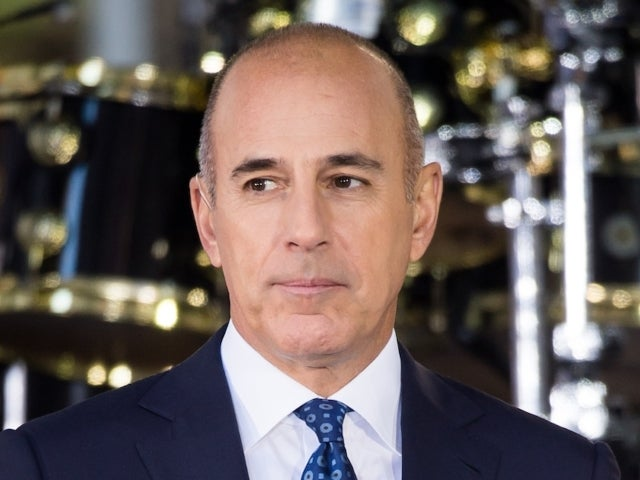 Matt Lauer Takes Mystery Woman out on Yacht Date