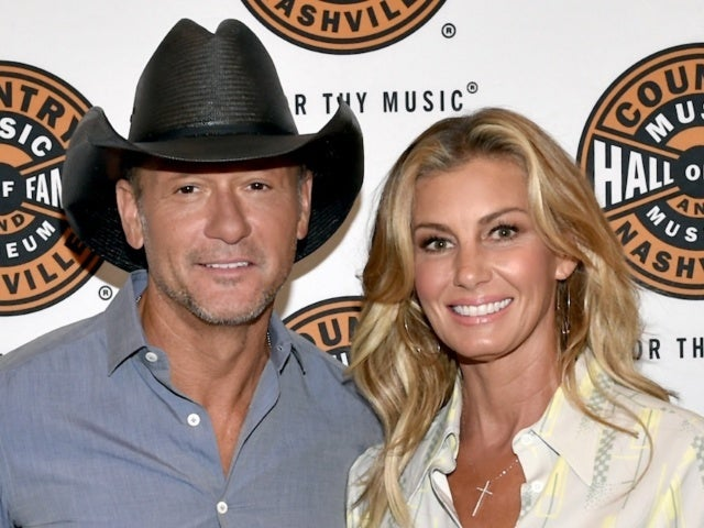 Tim McGraw Jokes Faith Hill Is 'Trying to Get Rid of' Him With Massive Christmas Tree