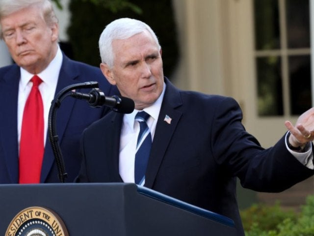Mike Pence Ignores Social Distancing Guidelines During Orlando Visit
