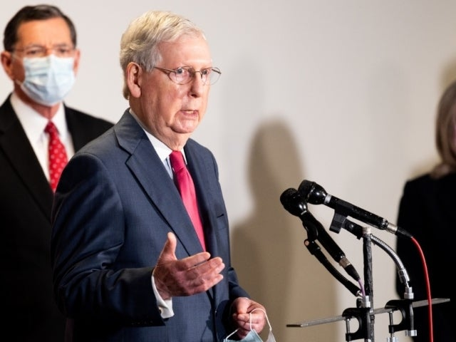 Stimulus Checks: Senate 'Not Quite Ready' for Second Payment, Mitch McConnell Says