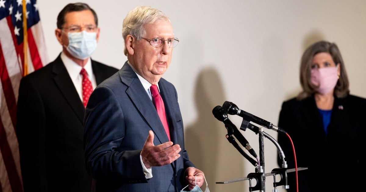mitch mcconnell getty images