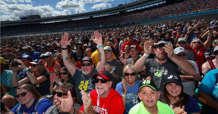NASCAR-Fans