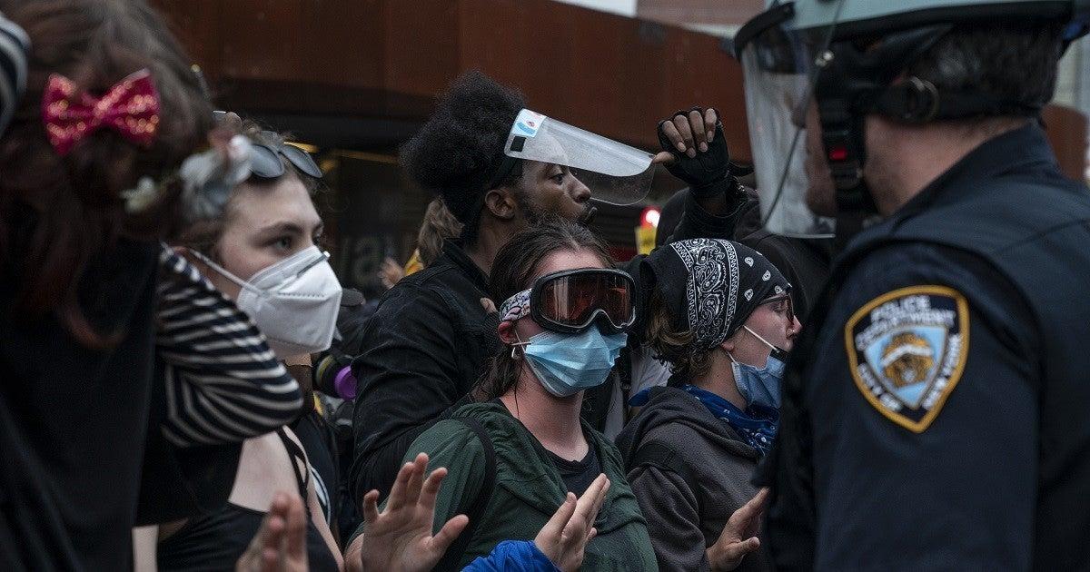 new-york-city-protest-george-floyd-getty