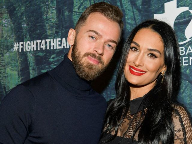 Nikki Bella and Artem Chigvintsev's Son Matteo Wears Adorable 'Dancing With the Stars' Onesie for Premiere