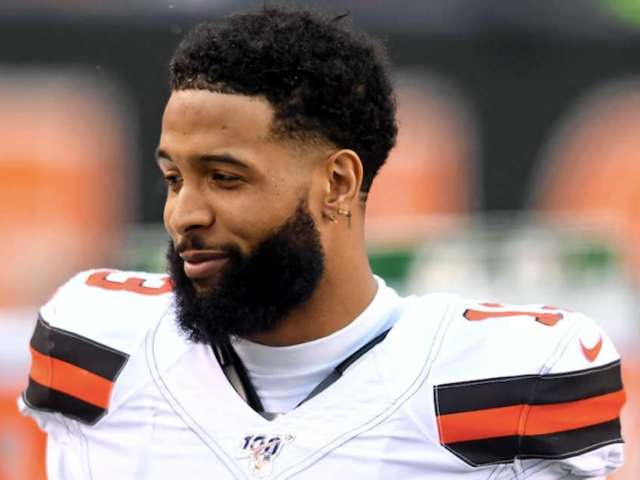 Odell Beckham Jr. and Myles Garrett Take Shots at Each Other in Bizarre 'The Last Dance' Interaction