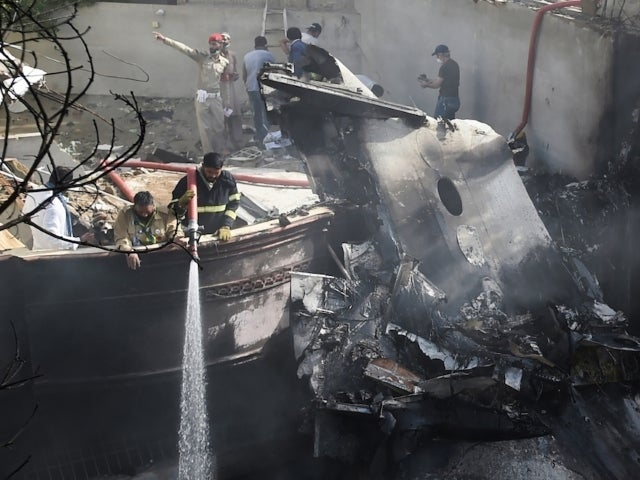 Dozens Feared Dead After Plane Carrying 107 People Crashes in Pakistan