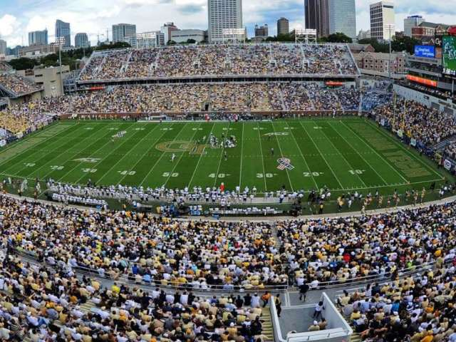 Photo of Fans at Georgia Tech Football Game During Spanish Flu in 1918 Resurfaces Amid Coronavirus Outbreak