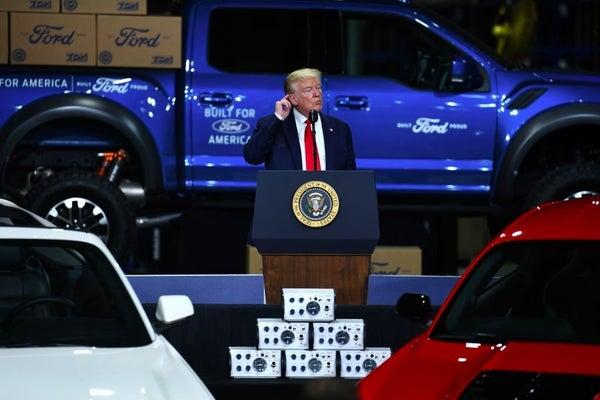 president-doanld-trump-visits-ford-plant