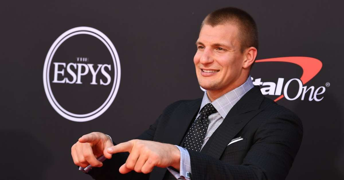 Rob Gronkowski defend WWE 247 title NFL