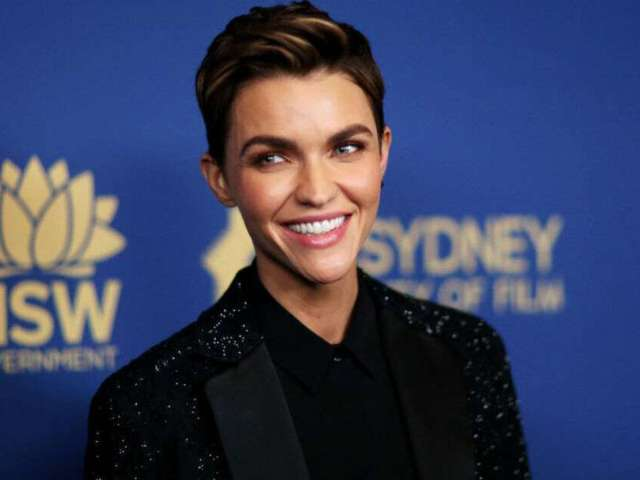 Ruby Rose Flaunts Wild Pink and Blue Hair in Quarantine Snaps