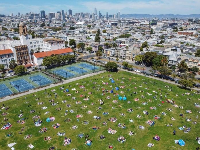 San Francisco Parks coronavirus