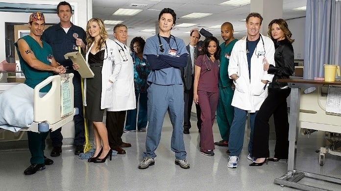 scrubs cast abc getty images