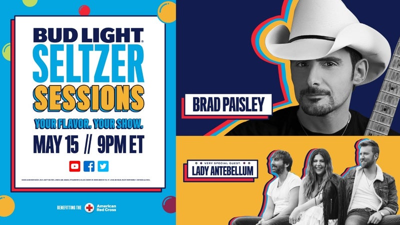 Seltzer Sessions w Brad Paisley and Lady Antebellum