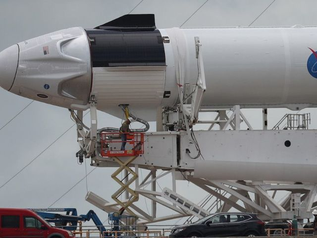 SpaceX Launch: Falcon 9, Crew Dragon and Ground Control Pre-Flight Checkouts Underway