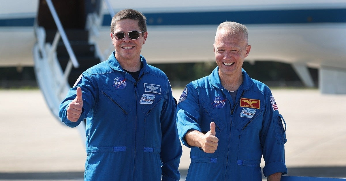 spacex-nasa-astronauts-getty
