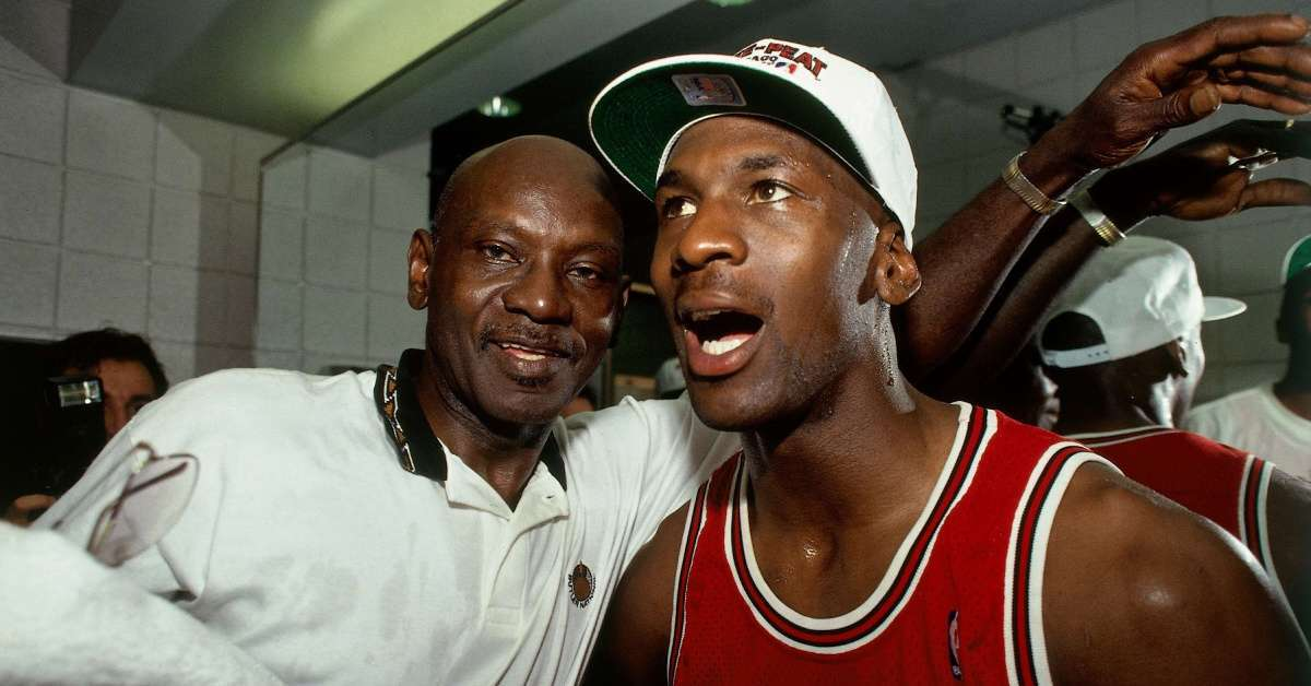 The Last Dance Michael Jordan father death emotional