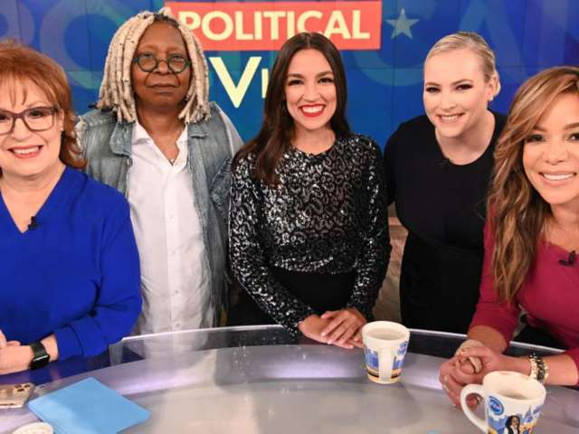 'The View': Whoopi Goldberg Cuts off Meghan McCain Amid Coronavirus Debate