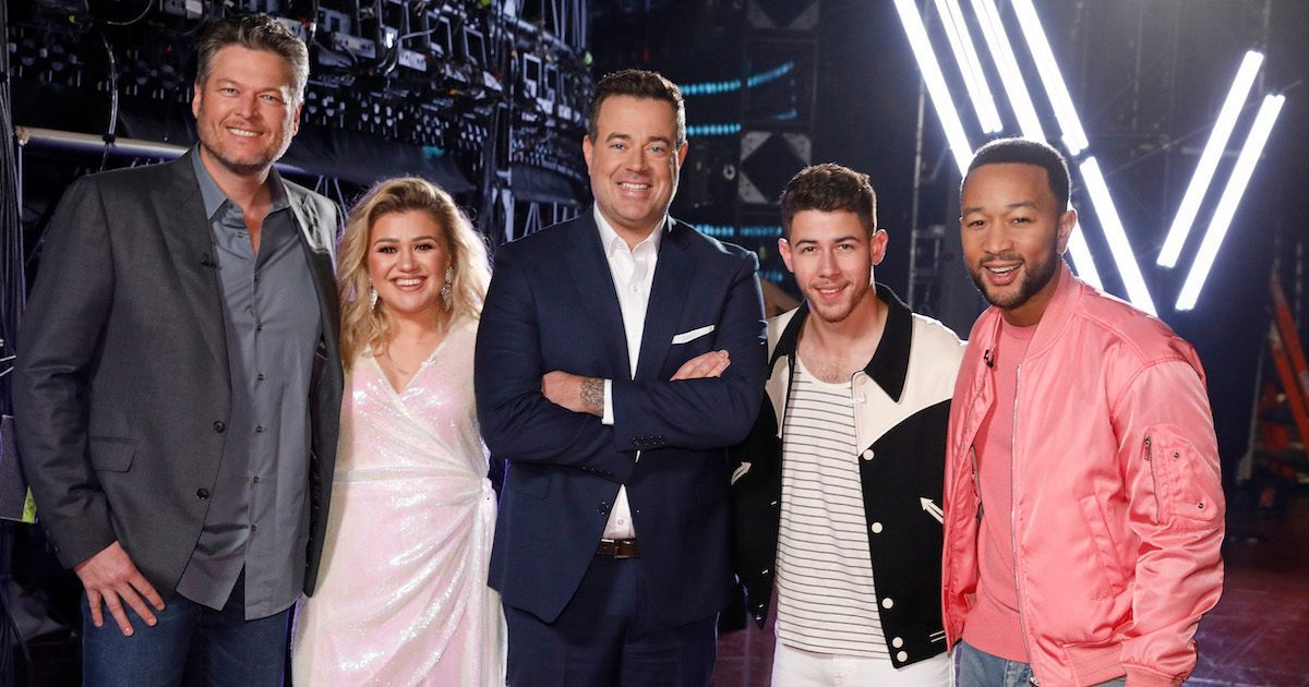 the-voice-kelly-clarkson-blake-shelton-nick-jonas-john-legend-carson-daly