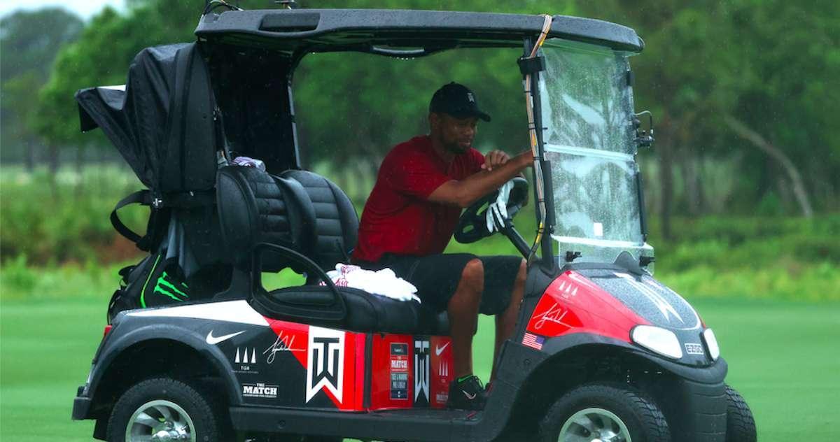Tiger-Woods-Golf-Cart